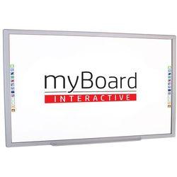 """Myboard Tablica interaktywna dotykowa silver 101""""c panorama"""