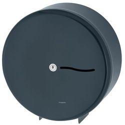 Dozownik na papier toaletowy Jumbo Maxi Grafitowy podajnik stalowy na papier toaletowy (5902734851727)