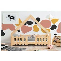 Producent: elior Drewniane łóżko dziecięce w formie domku 12 rozmiarów - tiffi 4x