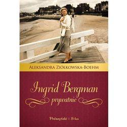 Ingrid Bergman Prywatnie, książka w oprawie twardej