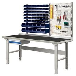 Array Stół warszatowy z wyposażeniem, 2000x800 mm, guma