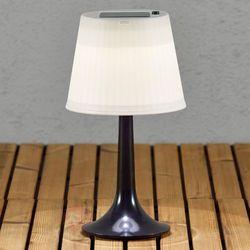 Konstsmide Czarna solarna lampa stołowa led assisi sitra (7318301097524)