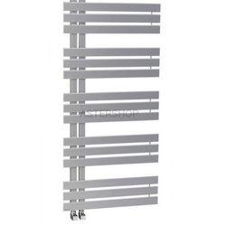 SILVANA grzejnik łazienkowy 600x1500mm stalowy, metaliczny srebrny 771W IR155 (8590913827440)