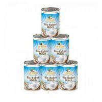 Mleko kokosowe BIO 400 ml Dr Goerg - Superpakiet 5 + 1 Gratis