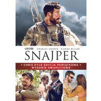 Snajper (Edycja pamiątkowa) (DVD) - Clint Eastwood (7321908341822)