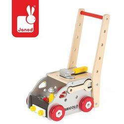 Janod - Ciężarówka do pchania magnetyczna z narzędziami Bricolo, kup u jednego z partnerów