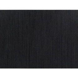 Beliani zestaw ogrodowy szklany blat 180 cm 6 osobowy czarne krzesła grosseto (4251682205467)