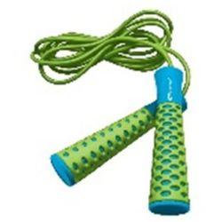 Skakanka Spokey CANDY ROPE zielono-niebieski z kategorii Piłki i skakanki