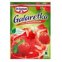 Galaretka o smaku truskawkowym 77 g Dr. Oetker (5900437034522)