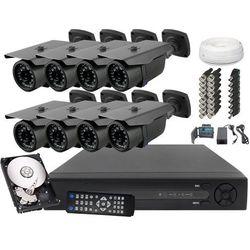 Zestaw do monitoringu 8x Kamera FullHD z IR do 30m Dysk 1TB - sprawdź w wybranym sklepie