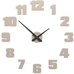 Zegar ścienny raffaello  piaskowy marki Calleadesign
