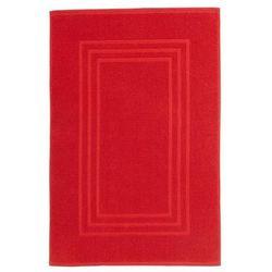 Cooke&lewis Dywanik łazienkowy palmi bawełniany 50 x 80 cm czerwony