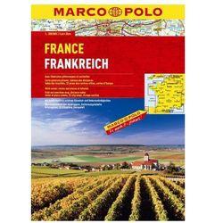 Francja atlas 1:300 000 Marco Polo (ISBN 9783829737050)
