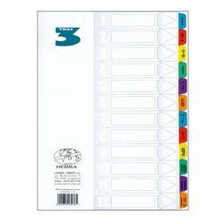 Przekładka laminowana numeryczna A4 1-12