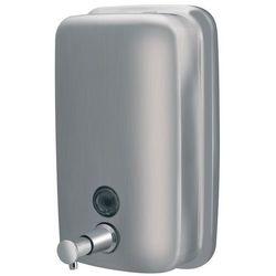 Faneco Dozownik do mydła w płynie 1 litr top stal szlachetna matowa (5901764295785)