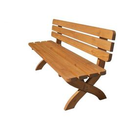 Drewniana ławka STRONG masiv FSC