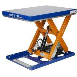 Kompaktowy stół podnośny, udźwig 500 kg, dł. x szer. platformy 900x700 mm, podn.