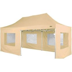 Makstor.pl Beżowy ekspresowy pawilon ogrodowy namiot handlowy 3x6 m - beżowy (30030061)