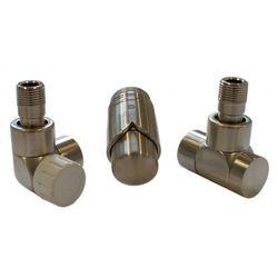 Grzejnik  603700042 zestawy łazienkowe lux gz ½ x złączka 16x2 pex osiowo lewy stal wyprodukowany przez Instal-projekt