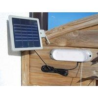 Lampa solarna z wyłącznikiem do ogrodu altanki marki Solaris