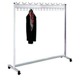 Unbekannt Szeregowy stojak na ubrania, wys. x gł. 1700 x 400 mm,bez stojaka na parasole