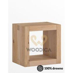 Szafka nocna dębowa caragana 01 marki Woodica