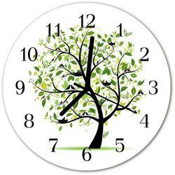 Zegar ścienny okrągły Drzewo