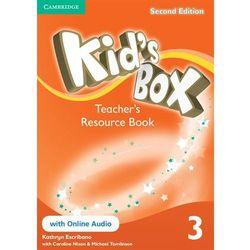 Kid's Box 3 Second Edition. Teacher's Resource Book + Online Audio (ISBN 9781107666474)