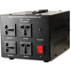 Transformator 230V/110V 2000VA z kategorii Transformatory