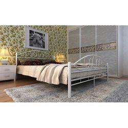 1xbp łóżko metalowe 180x200cm podwójne stelaż marki Lagis