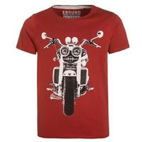 Ebound Tshirt z nadrukiem dark red (5415185490990)