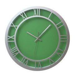 Zegar ścienny roman zielony