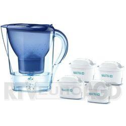 Brita Dzbanek filtrujący marella xl blue + 4 wkłady pure performance (4006387109257)