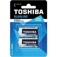 TOSHIBA Bateria Alkaline C R14 LR14 TOSHIBA LR14 ALKALINE R14 C, kup u jednego z partnerów