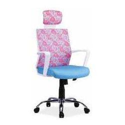 Fotel Maja niebiesko-różowy - ZADZWOŃ I ZŁAP RABAT DO -10%! TELEFON: 601-892-200, SM Ł Kleopatra_20170224125003
