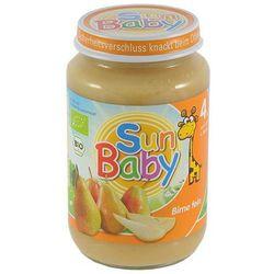 4 mc deser gruszka bezglutenowy bio 190 g - sun baby, marki Babysun