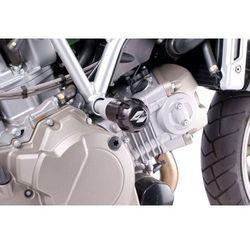 Crash pady PUIG do Aprilia Mana 850 (czarne) z kategorii crash pady motocyklowe