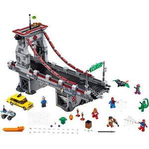 76057 SPIDERMAN: PAJĘCZY WOJOWNIK Spider-Man: Web Warriors Ultimate Bridge Battle - KLOCKI LEGO SUPER HEROES