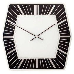 Nextime Zegar ścienny hexagon ciemny (8717713004073)