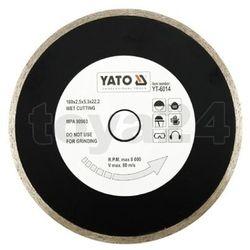 Tarcza diamentowa, segment ciągły, 180 mm / yt-6014 /  - zyskaj rabat 30 zł marki Yato