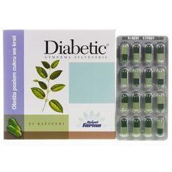 Apipol Diabetic 64kaps, kategoria: pozostałe akcesoria dla cukrzyków
