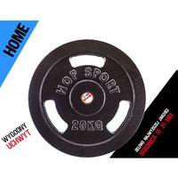Obciążenie żeliwne 20 kg czarne fi 31 mm (okrągłe) Kelton HOME - produkt z kategorii- Obciążenia