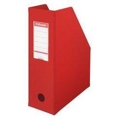 ESSELTE Pojemnik na dokumenty składany A4 100 mm, czerwony
