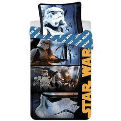 Jerry Fabrics Pościel bawełniana Star Wars Stormtroopers, 140 x 200 cm, 70 x 90 cm