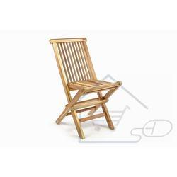 Krzesło dziecięce do ogrodu z drzewa tekowego