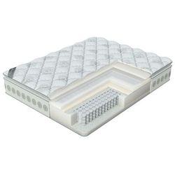 Luksusowy materac soft memory pillow top, kolor frostwork, 120x200 cm marki Verda