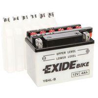 Akumulator motocyklowy Exide YB4L-B 4Ah 50A