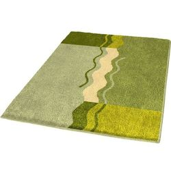 Kleine wolke dywanik łazienkowy vanessa, 55 x 65 cm, palmowy (4004478163744)