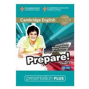 Cambridge English Prepare! 3 Presentation Plus DVD (Płyta DVD) (9781107497320)