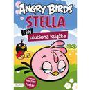 Angry Birds Stella i jej ulubiona książka z nalepkami i plakatem. (2013)